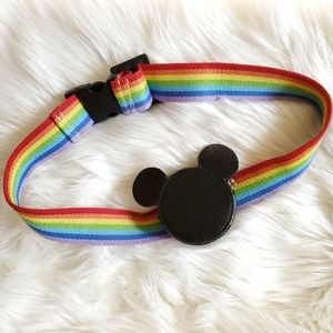Disney Mickey Rainbow Belt with Coin Purse